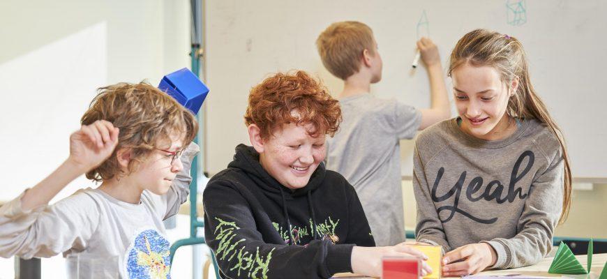 Spoor 10-14 leerlingen samenwerken